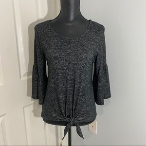 💋💋💋3/$25 Caution 2 the Wind Sweater  Gray…